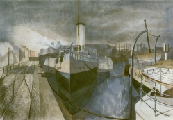 john nash nocturne bristol docks